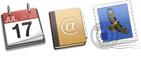 Kalendář, kontakty a emailové služby
