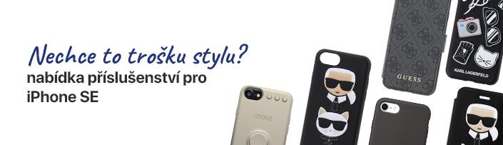 Příslušenství iPhone SE - detail