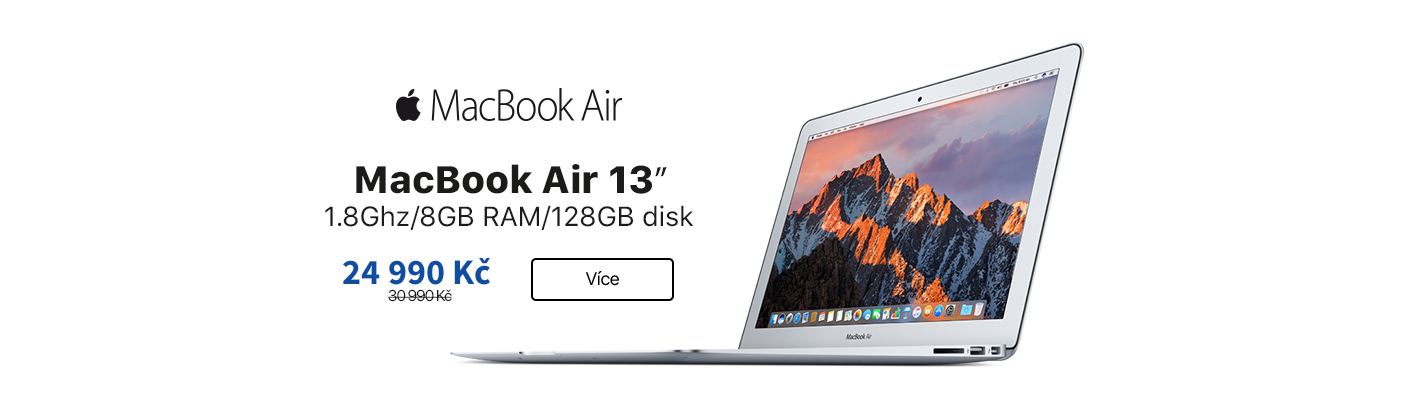 MacBook Air 13 sleva