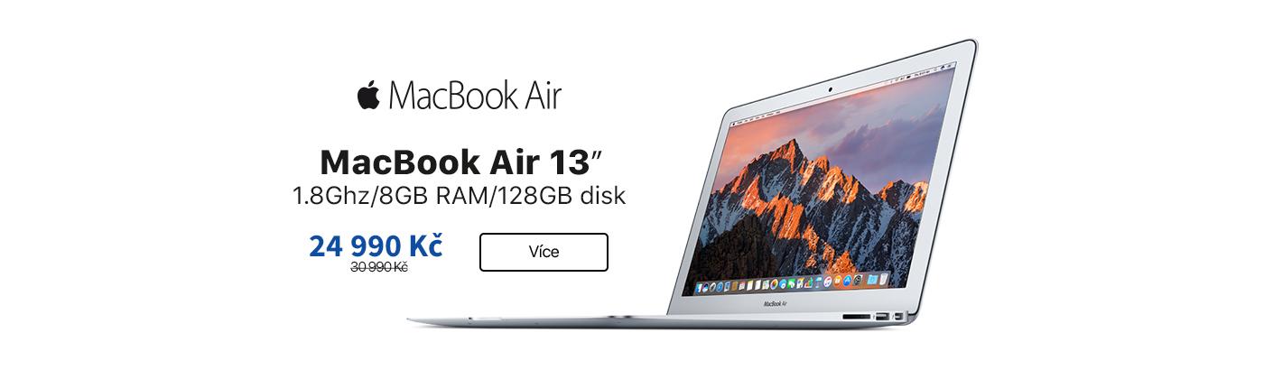 MacBook Air 13 sleva