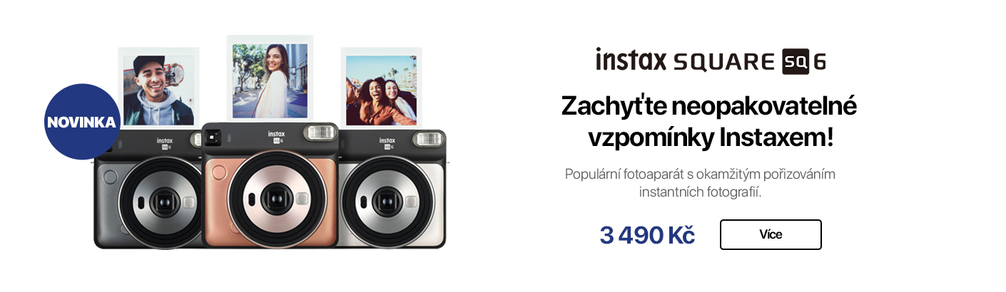 Instax Square SQ6 fotoaparát
