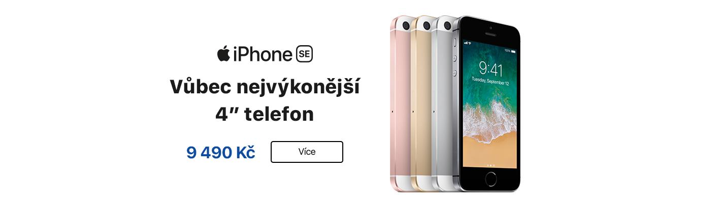 iPhone SE akce