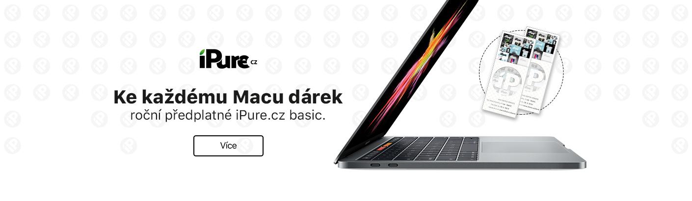 Roční předplatné iPure.cz basic ke každému Macu nový