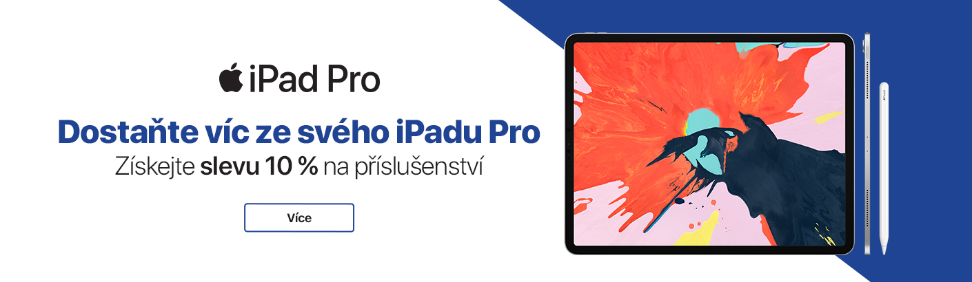iPad Pro - 10% sleva na ACC