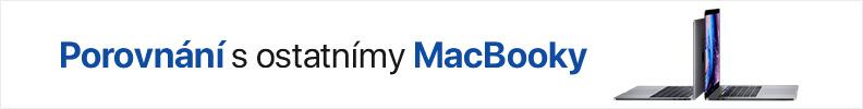 MacBook Pro srovnání detail