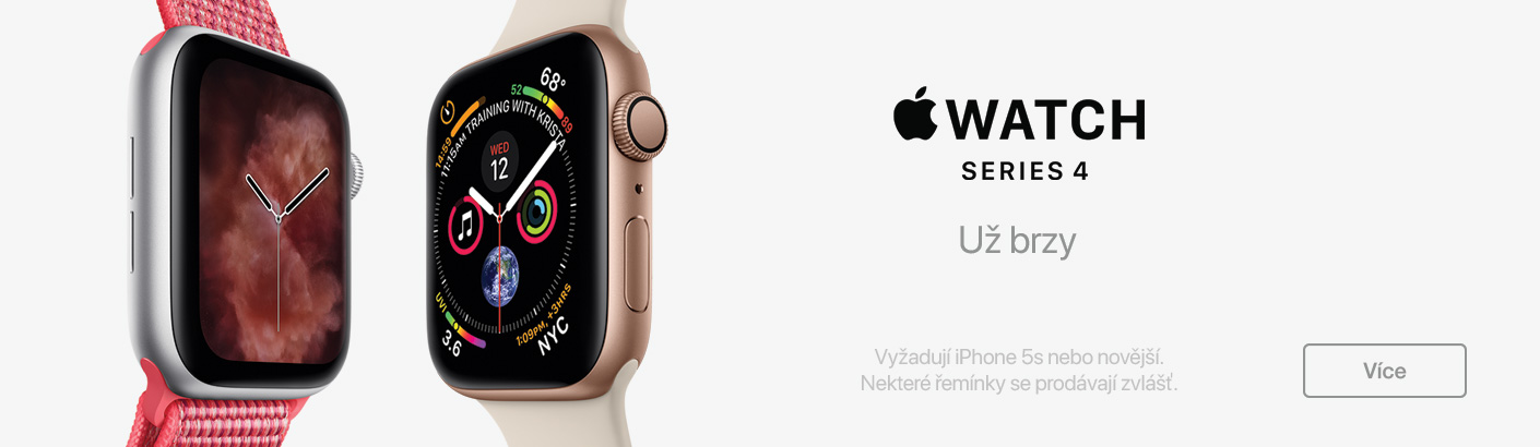 Apple Watch Series 4 novinka