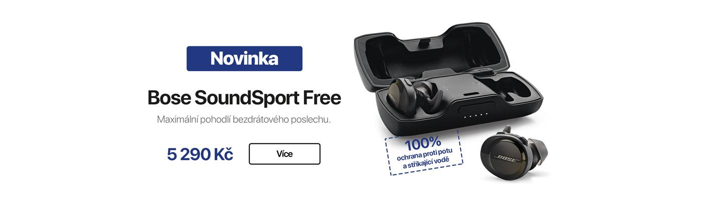 Bose SoundSport Free sluchátka