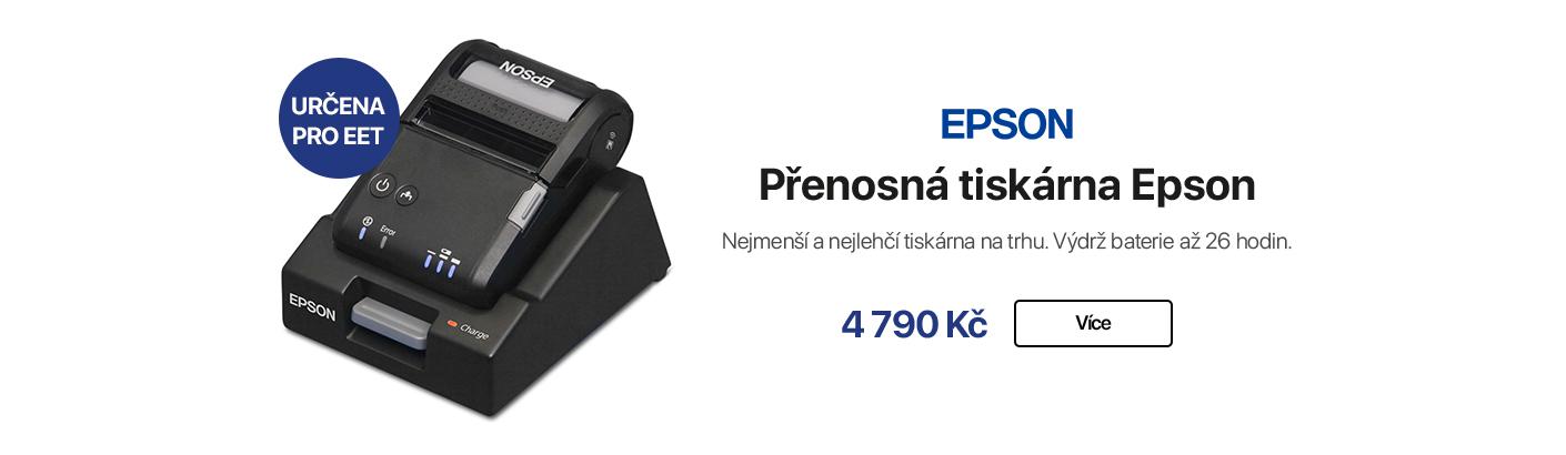 Přenosná tiskárna Epson