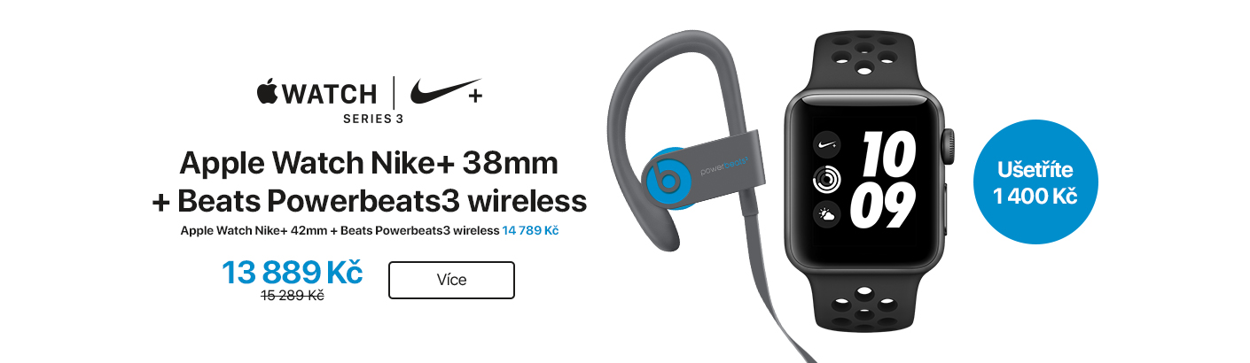 Apple Watch + Powerbeats