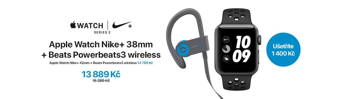 Watch Nike+ 38mm + Beats Powerbeats3